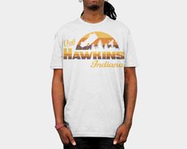 печать на белой футболке А4