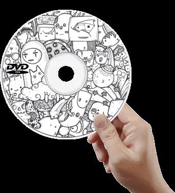 печать на cd и dvd дисках