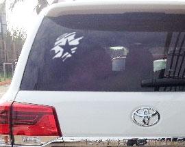 печать наклеек для авто