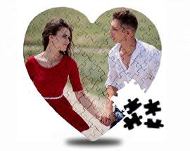 магнитный пазл в форме сердца