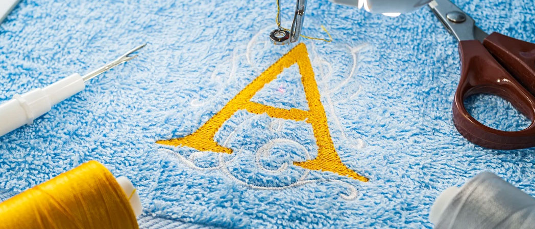 пример вышивки